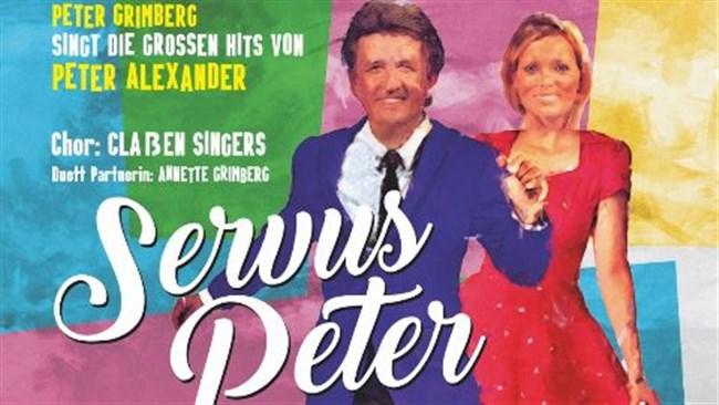 Servus Peter - Das Konzert (Peter Alexander) eine Live-Homage mit dem ehemaligem Paul Kuhn Orchester