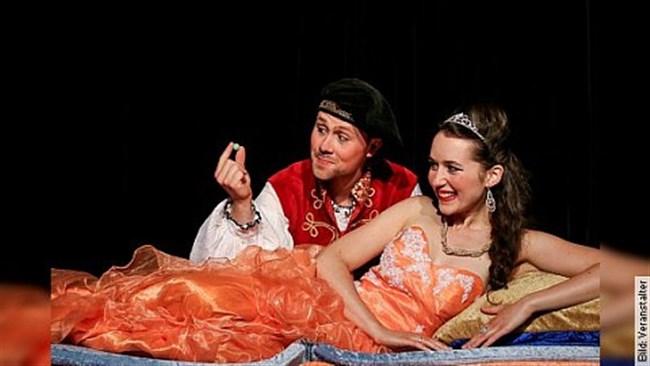 Prinzessin auf der Erbse - Heiteres Märchentheater für die ganze Familie