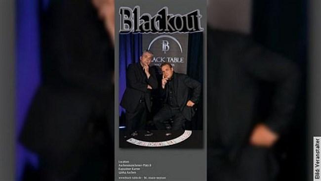 Blackout - Close-up-Zaubershow