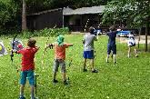 Kinder-Kurse im intuitiven Bogenschießen in Köln