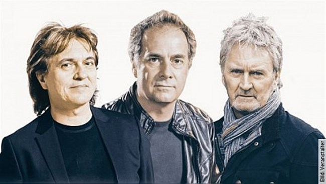"""Frontm3n - """"All For One"""" - Tour 2019 - Peter Howarth (The Hollies), Mick Wilson (10cc) & Pete Lincoln (The Sweet)"""
