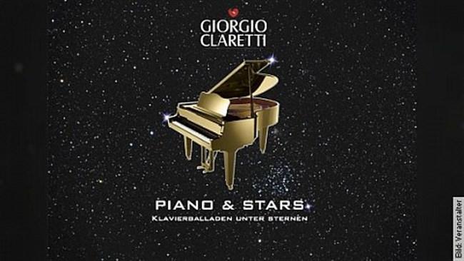 GIORGIO CLARETTI - Piano & Stars Klavierballaden unter Sternen