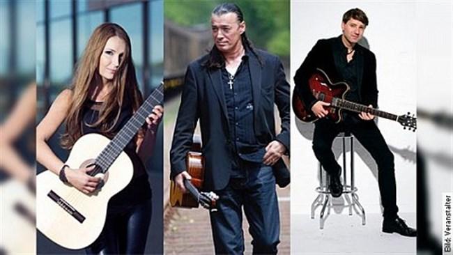 Große Gitarrennacht mit Lulo Reinhardt, Yuliya Lonskaya & Daniel Stelter - Konzert
