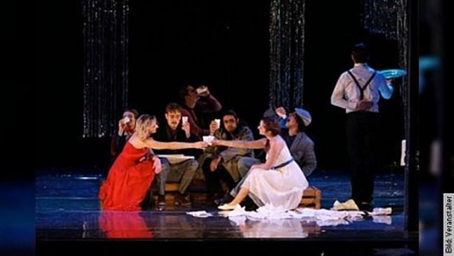 Opera on tap . Opernarien frisch gezapft