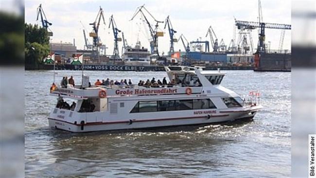 Große Hafenrundfahrt 2019 - 1-stündige Tour durch den Hamburger Hafen
