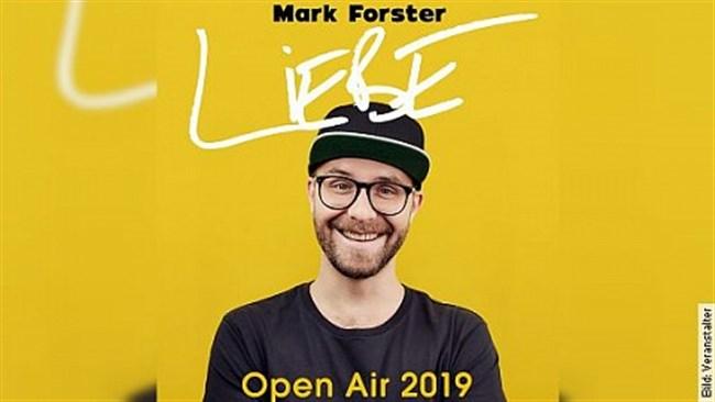 MARK FORSTER - LIEBE - Open Air 2019