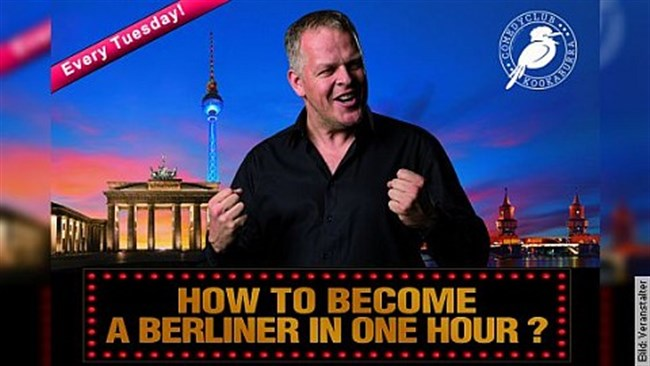 Karsten Kaie: How to become a Berliner in one hour! - Show im Prenzlauer Berg