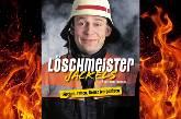 Marc Breuer als Löschmeister Jackels und seine guten Bekannten