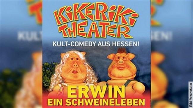 Kikeriki Theater - Erwin ein Schweineleben - Tournee 2019