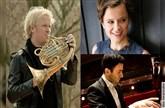 Katja Stuber (Sopran), Christoph Eß (Horn) & Boris Kusnezow (Klavier)