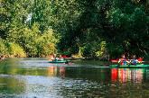 Schurenhof Vlodrop (NL) - Kanu fahren auf der Rur in Vlodrop (NL)